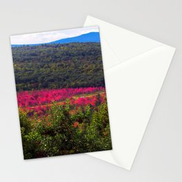 Autumn Begins in Maine (2) Stationery Cards