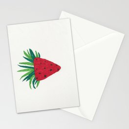 Strawberry Tone Art Stationery Cards