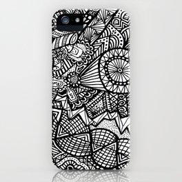 Doodle 5 iPhone Case