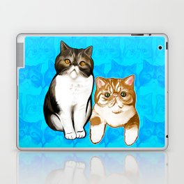 Puffy and Caesar  Laptop & iPad Skin