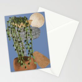 The Magic Of Nature, Night View, Scene 01 Stationery Cards