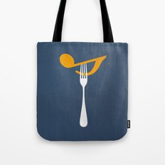 Hungry For Music Tote Bag