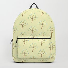 springtime trees with sun Backpack