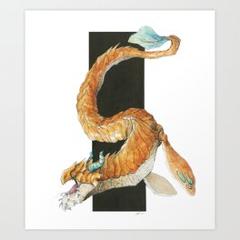 Teach Art Print