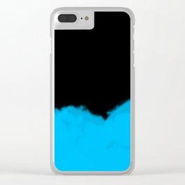 Blue Haze Clear iPhone Case