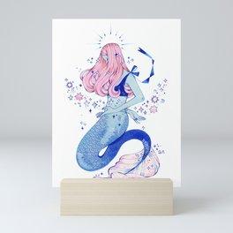 Blue Siren Mini Art Print