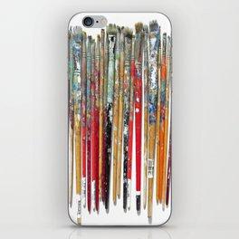 Twenty Years of Paintbrushes iPhone Skin