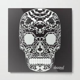 calaverita de azucar Metal Print