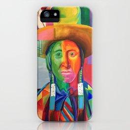Cowboy Indian iPhone Case