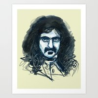 zappa Art Prints featuring Zappa by Katie Bumdesu Whittle