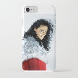 Loki - Burdened with Glorious Purpose XIII Ver III iPhone Case