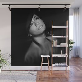 Ally Brooke Hernandez 'Reflection' Digital Painting Wall Mural