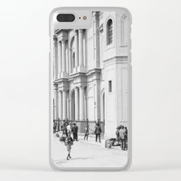 Saint Louis Cathedral, New Orleans 1910 Clear iPhone Case