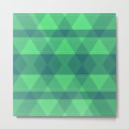 Bright ,green , abstract Metal Print