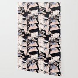 Beige et bois Wallpaper