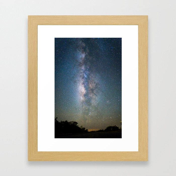 The Universe and the Everglades Framed Art Print