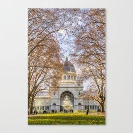 Royal Exhibition Centre Melbourne (Autumn) Canvas Print