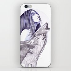 Call Of The Wolves iPhone & iPod Skin
