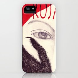 Roja iPhone Case