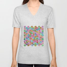 Marble Hive Jewels Unisex V-Neck