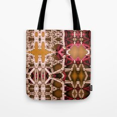 My unseen foreign tact. Tote Bag
