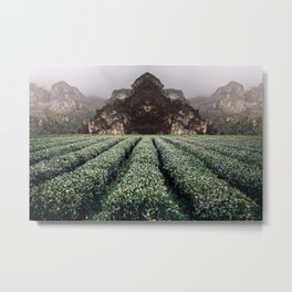 Unknown Fields of a Strange Land Metal Print