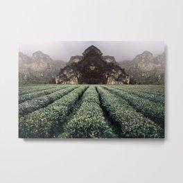 Unknown Fields of a Strange Land Metal Print