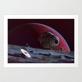 Phobos Relay Art Print