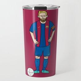 Lionel Messi - Red Travel Mug