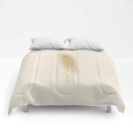 Scanography Series: Feather Comforters