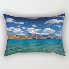 Evening Blues...Pangong Lake Rectangular Pillow