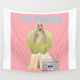 I'm Puppy Wall Tapestry