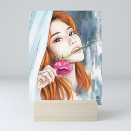Sana Rose Mini Art Print