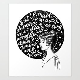 Goodnight, My Someone Art Print