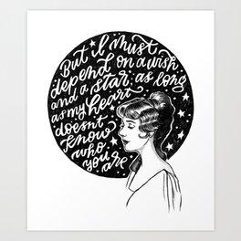 Goodnight, My Someone Art Print