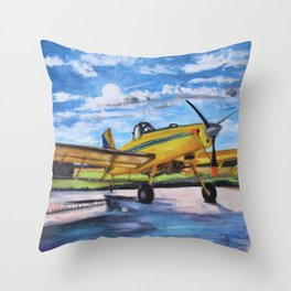 Delta Bird Throw Pillow