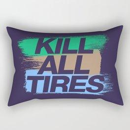 Kill All Tires v7 HQvector Rectangular Pillow