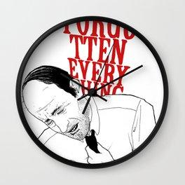 forgot II Wall Clock