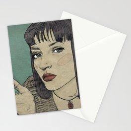 Mia (Mia Wallace Pulp Ficion) Stationery Cards