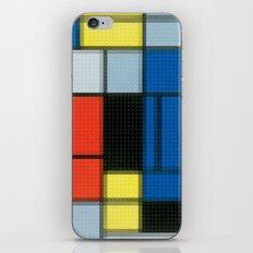 Lego: Piet Mondrian no.2 iPhone & iPod Skin