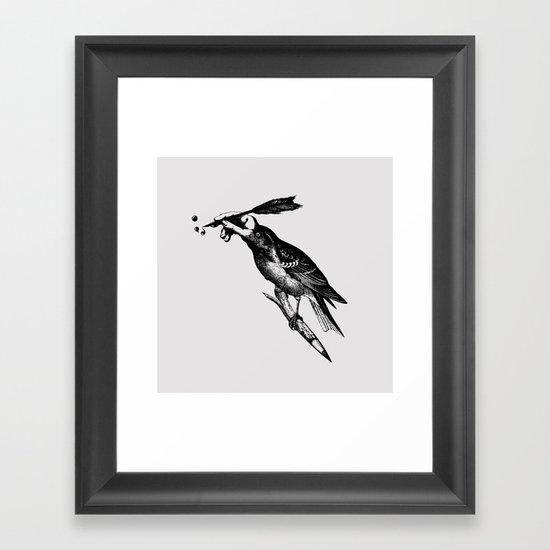 The Experimetal Artist Framed Art Print