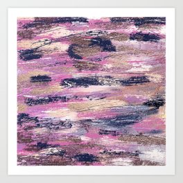 Rushing Pellmell Into Mad Confusion Art Print