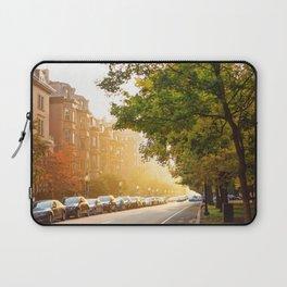 Boston, MA - Commonwealth Avenue Laptop Sleeve