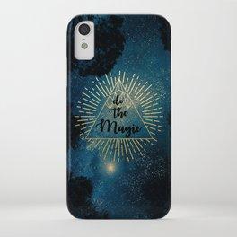 Do the Magic (Night Sky) iPhone Case