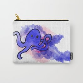 Watercolor octopus Carry-All Pouch