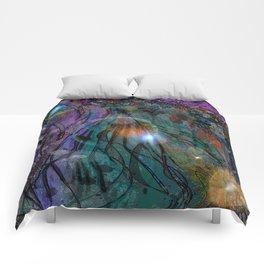 BLACK SEA OF SPACE Comforters