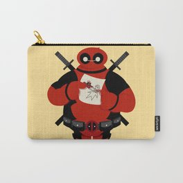 Dead Pool x baymax (Deadmax) Carry-All Pouch