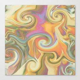 Twirladelic Canvas Print