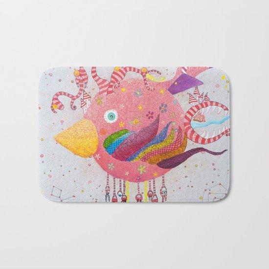 the bird-world Bath Mat