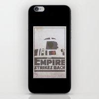 r2d2 iPhone & iPod Skins featuring R2D2 by David Landau